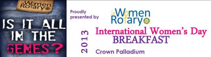 Women in Rotary | International Women's Day 2013 |  Sponsor - Ancora Learning