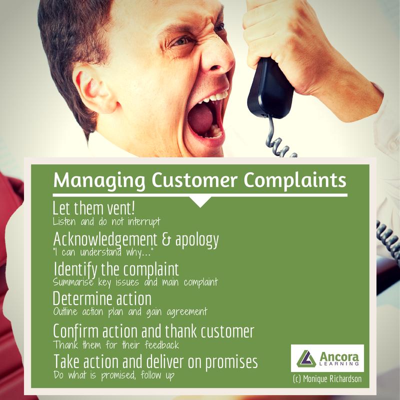 Ancora Learning - Managing Customer Complaints   Customer Service Training